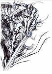Silver Surfer 2015 by Eric Canete