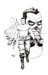 Bloodshot Reborn #10 Cover by Dave Johnson
