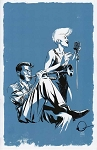 Blue Jazz Print by Ramon Perez