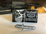 Complete Set of Limited Edition Urban Barbarian Enamel Pins