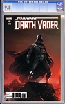 Darth Vader #1 Variant by Francesco Mattina CGC 9.8 Blue Label
