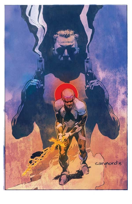 X-O / Bloodshot Print by Cary Nord