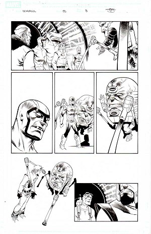 Deadpool Issue 55 p.08 by Shawn Crystal