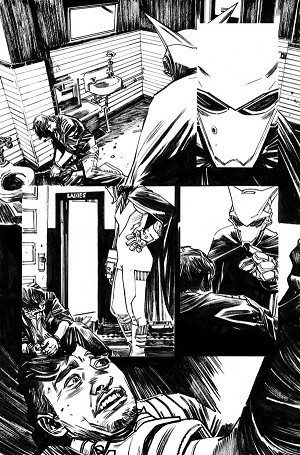 Mother Panic #1 page 21 by Tommy Lee Edwards