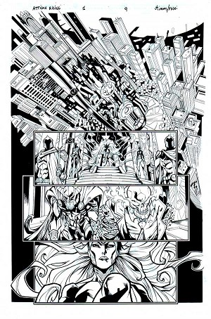 Inhumans: Attilan Rising Issue 1 p.09 by John Timms