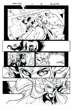Inhumans: Attilan Rising Issue 1 p.16 by John Timms