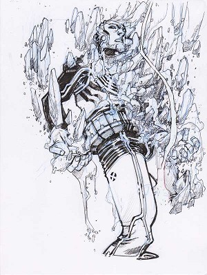 Ice Man by Eric Canete