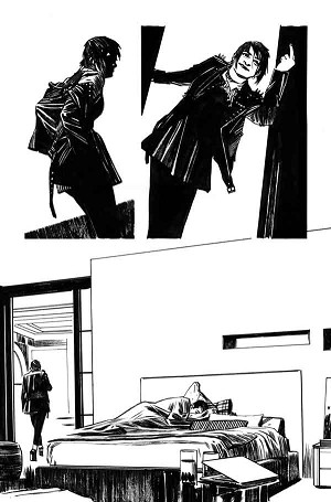 Mother Panic #2 p.14 by Tommy Lee Edwards