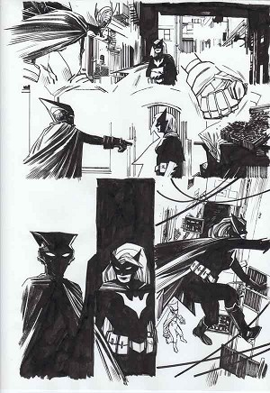 Mother Panic #3 p.17 by Tommy Lee Edwards