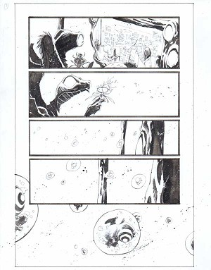 Black Science Issue 33 Page 03 by Matteo Scalera