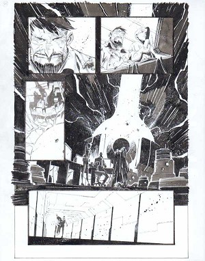 Black Science Issue 33 Page 18 by Matteo Scalera