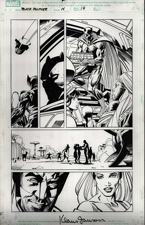 Black Panther #14 p.19 by Klaus Janson