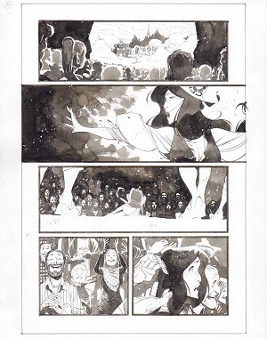 Black Science #35 p.12 by Matteo Scalera