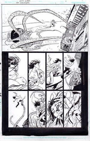 New Challengers #1 p.11 by Andy Kubert