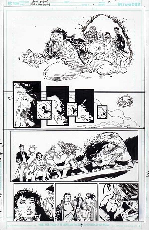 New Challengers #1 p.15 by Andy Kubert