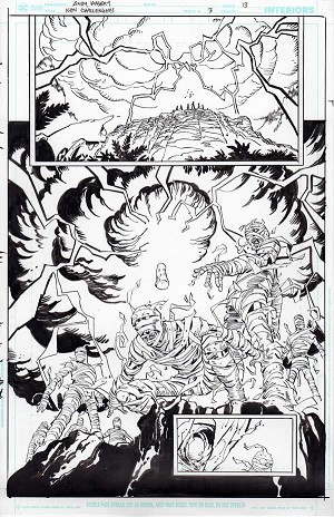 New Challengers #3 p.13 by Andy Kubert