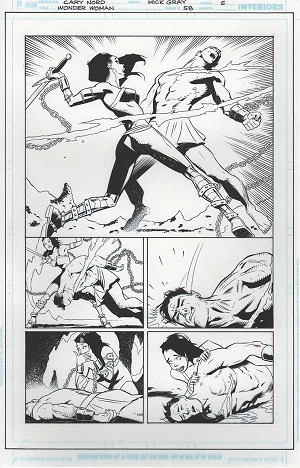 Wonder Woman #58 p.05 by Cary Nord