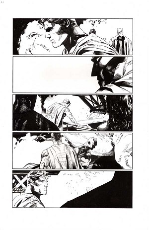 Heroes in Crisis #4 p.21 by Clay Mann
