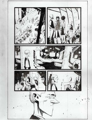Black Science #41 p.11 by Matteo Scalera