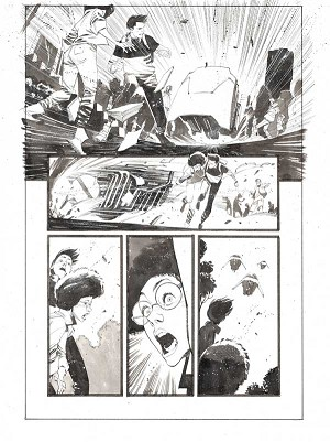 Black Science #42 p.30 by Matteo Scalera