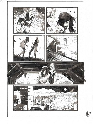 Black Science #43 p.16 by Matteo Scalera