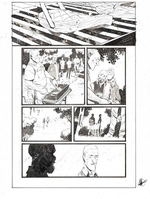 Black Science #43 p.20 by Matteo Scalera
