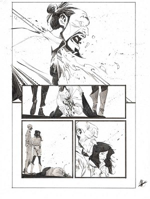 Black Science #43 p.26 by Matteo Scalera