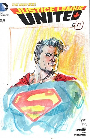 Superman Sketchcover by Rod Reis