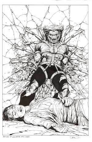Return of Wolverine #4 Cover by Steve McNiven