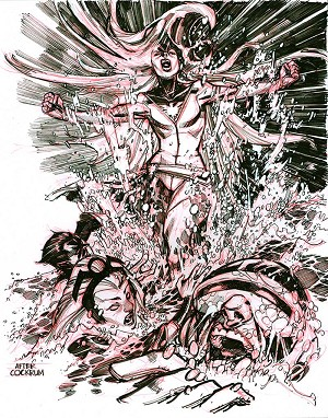 X-Men #101 Cover Recreation by Eric Canete