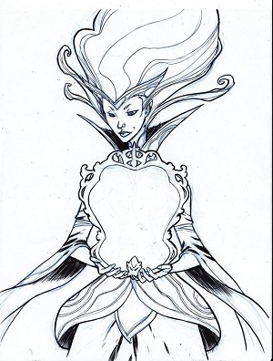 Mirror Queen by Eric Canete