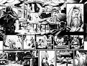 Black Science Issue 17 page 06-7 by Matteo Scalera