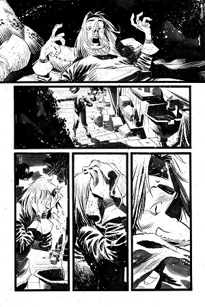 Black Science Issue 17 page 12 by Matteo Scalera