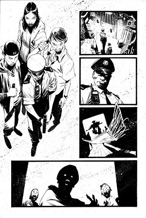 Black Science Issue 27 Page 9 by Matteo Scalera