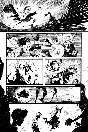 Black Science Issue 28 Page 17 by Matteo Scalera