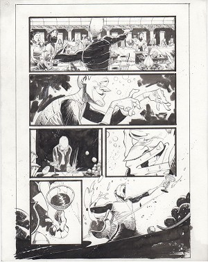 Black Science Issue 22 page 16 by Matteo Scalera