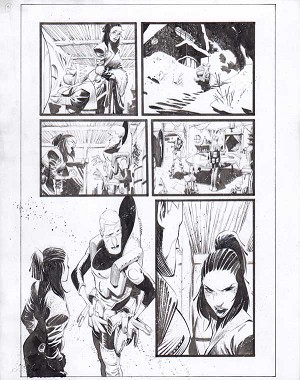 Black Science Issue 23 page 13 by Matteo Scalera