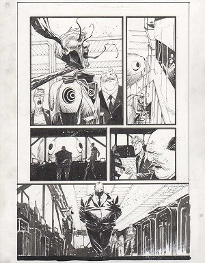 Black Science Issue 25 page 16 by Matteo Scalera