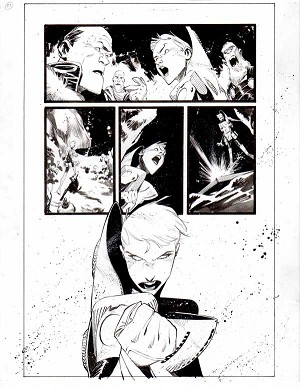 Black Science Issue 26 page 21 by Matteo Scalera