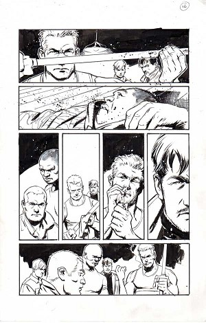 Deathstroke #9 p.16 by Cary Nord