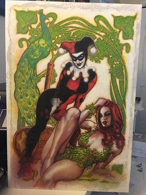 Harley Quinn & Poison Ivy by Tony Harris