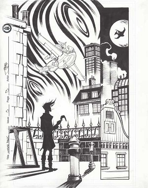Mother Panic Issue 5 p.03 by Shawn Crystal