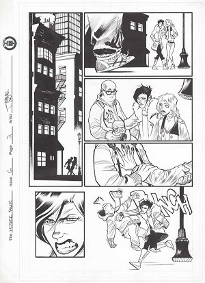 Mother Panic Issue 6 p.02 by Shawn Crystal