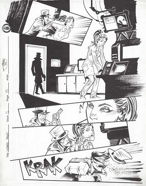 Mother Panic Issue 6 p.15 by Shawn Crystal