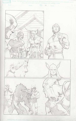 Trial of Thor #32 p.17 by Cary Nord