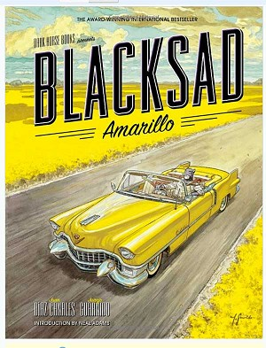 Signed Blacksad Amarillo by Juanjo Guarnido