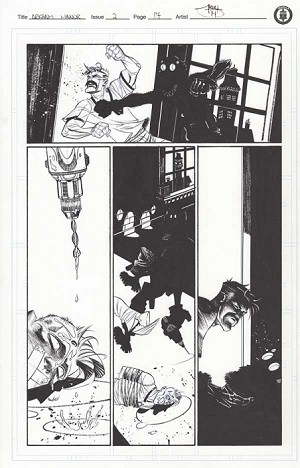Arkham Manor Issue 2 p.17 by Shawn Crystal