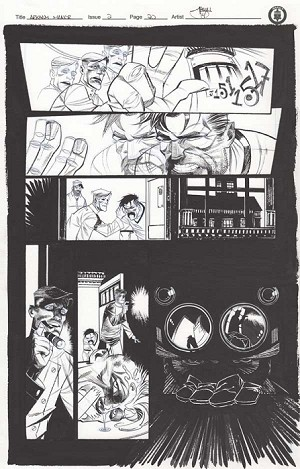 Arkham Manor Issue 2 p.20 by Shawn Crystal