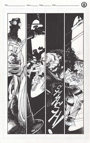 Arkham Manor Issue 3 p.12 by Shawn Crystal