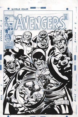 Avengers Cover by Tim Sale